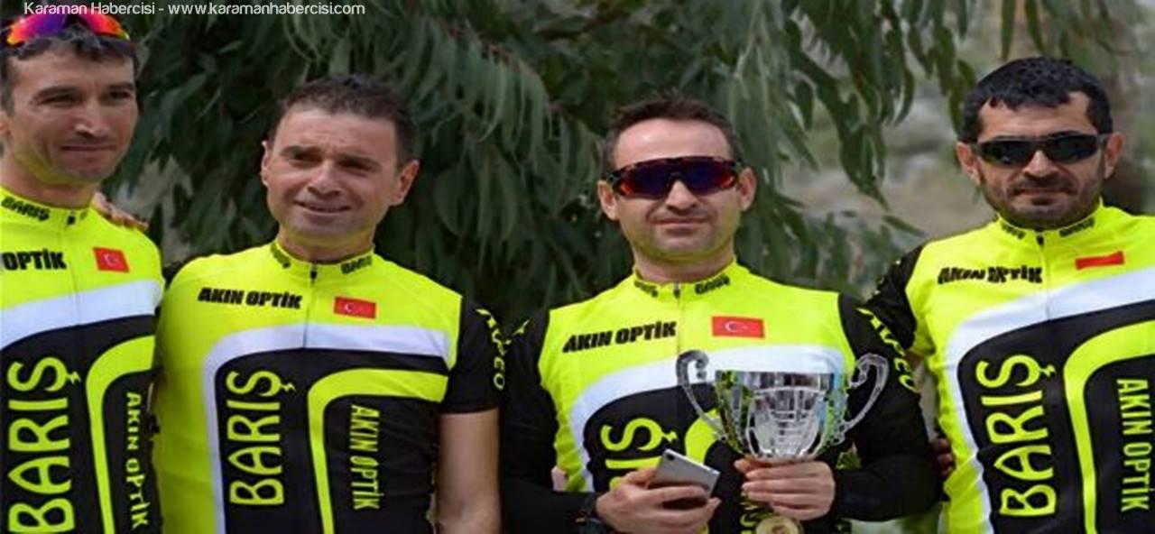Karaman Bisiklet Takımı Muğla'da Tam Gaz