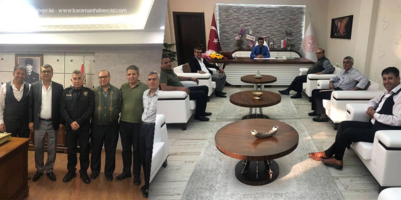 Türkmenlerden Hayırlı Olsun Ziyaretleri
