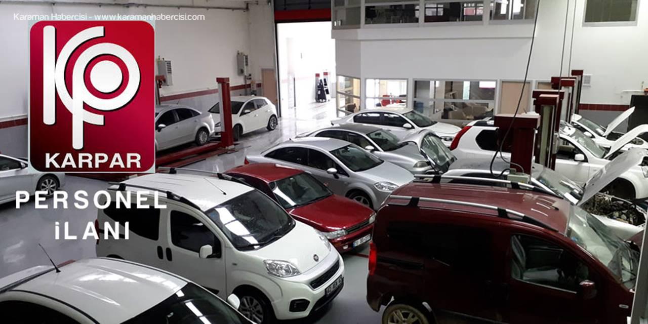 Fiat Yetkili Servisi Karpar Otomotiv'den Personel İlanı
