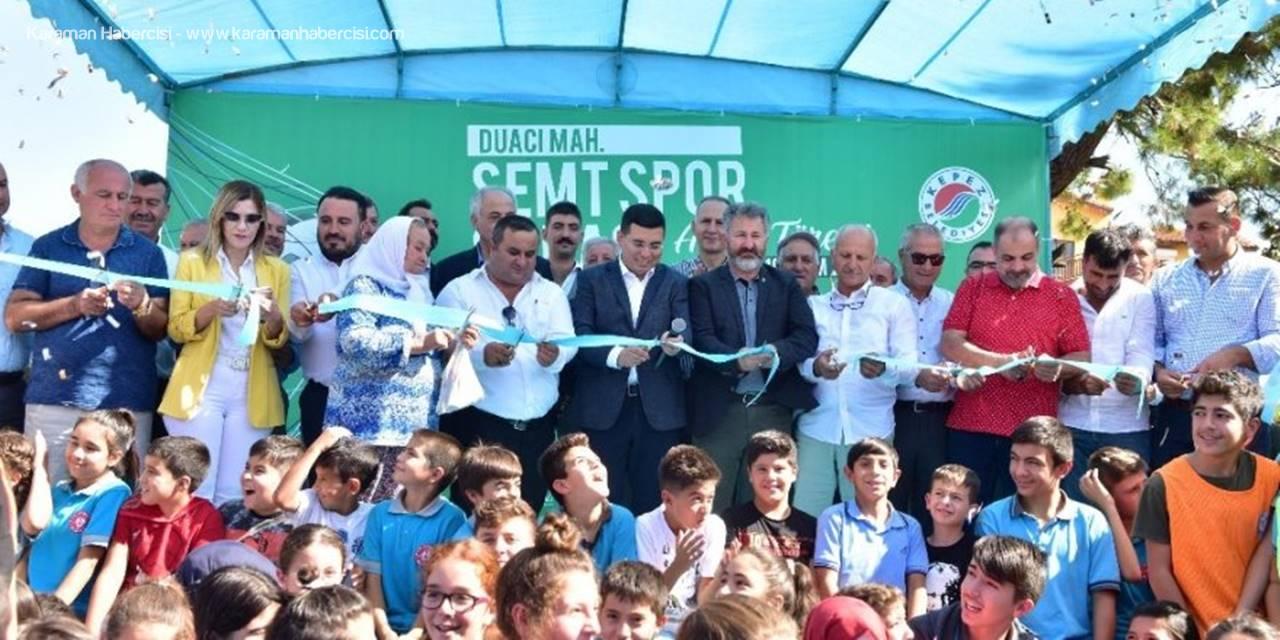 Kepez Belediyesi Semt Spor Sahasını Törenle Hizmete Açtı