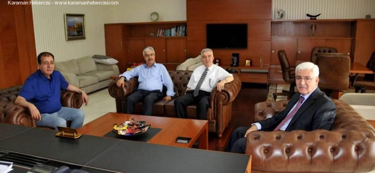 Vali Murat Koca Veda Ziyaretlerine Başladı