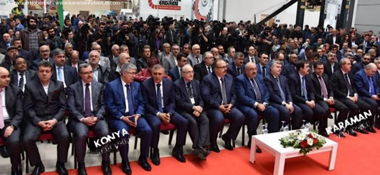 2017 Konya Tarım Fuarı Açıldı