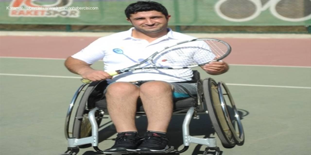 Tekerlekli Sandalye Tenis Sporuyla Tüm Engellere Meydan Okuyorlar