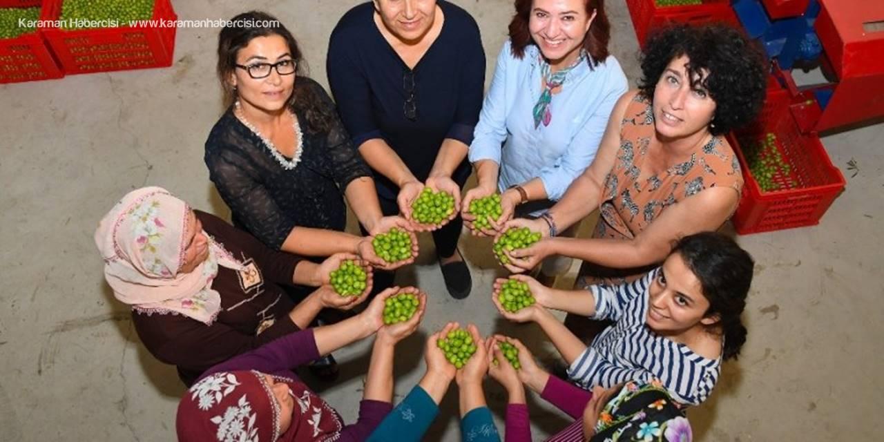 15 Ekim Dünya Kadın Çiftçiler Günü Etkinliğine Katılmak İçin Mersin'e Geldi