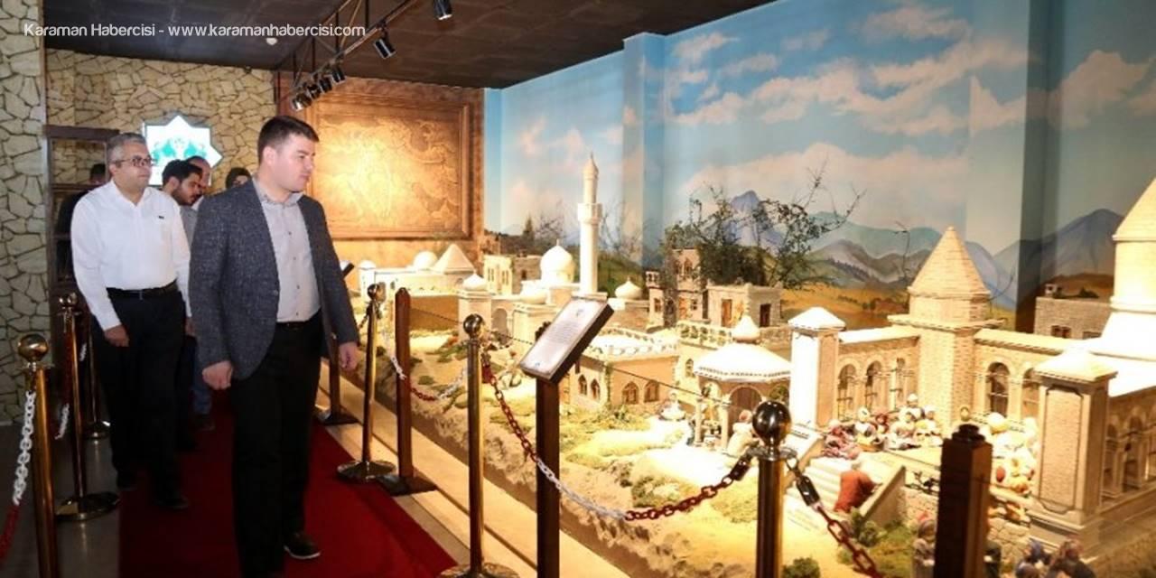 Aksaray'da Somuncu Baba Minyatür Müzesinde Yenileme Çalışmaları