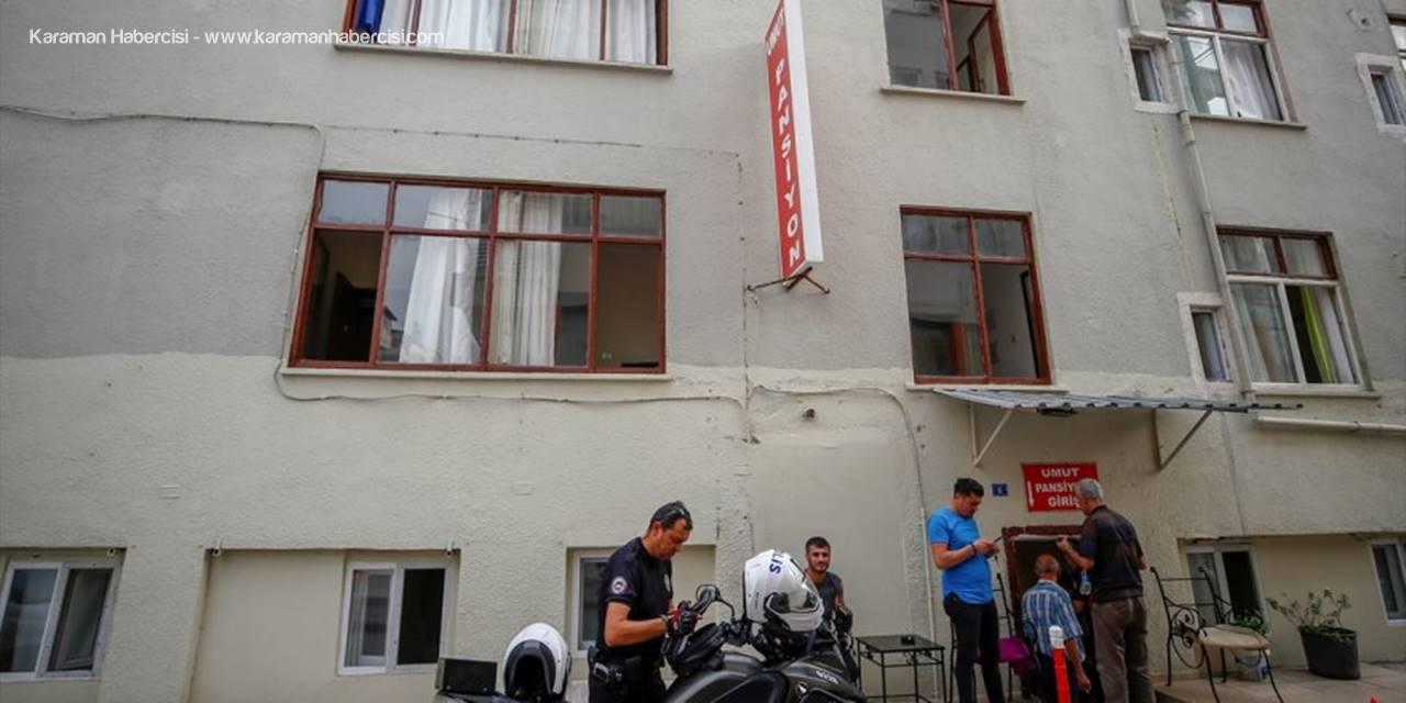 Pansiyon Sahibinden Bıçak Zoruyla Bin 150 Lira Gasp Ettiği İleri Sürülen Zanlı Aranıyor