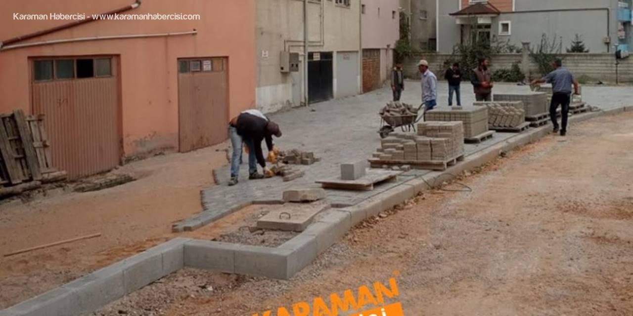 Karaman Belediyesi Çalışmaları Alişahane Mahallesinde