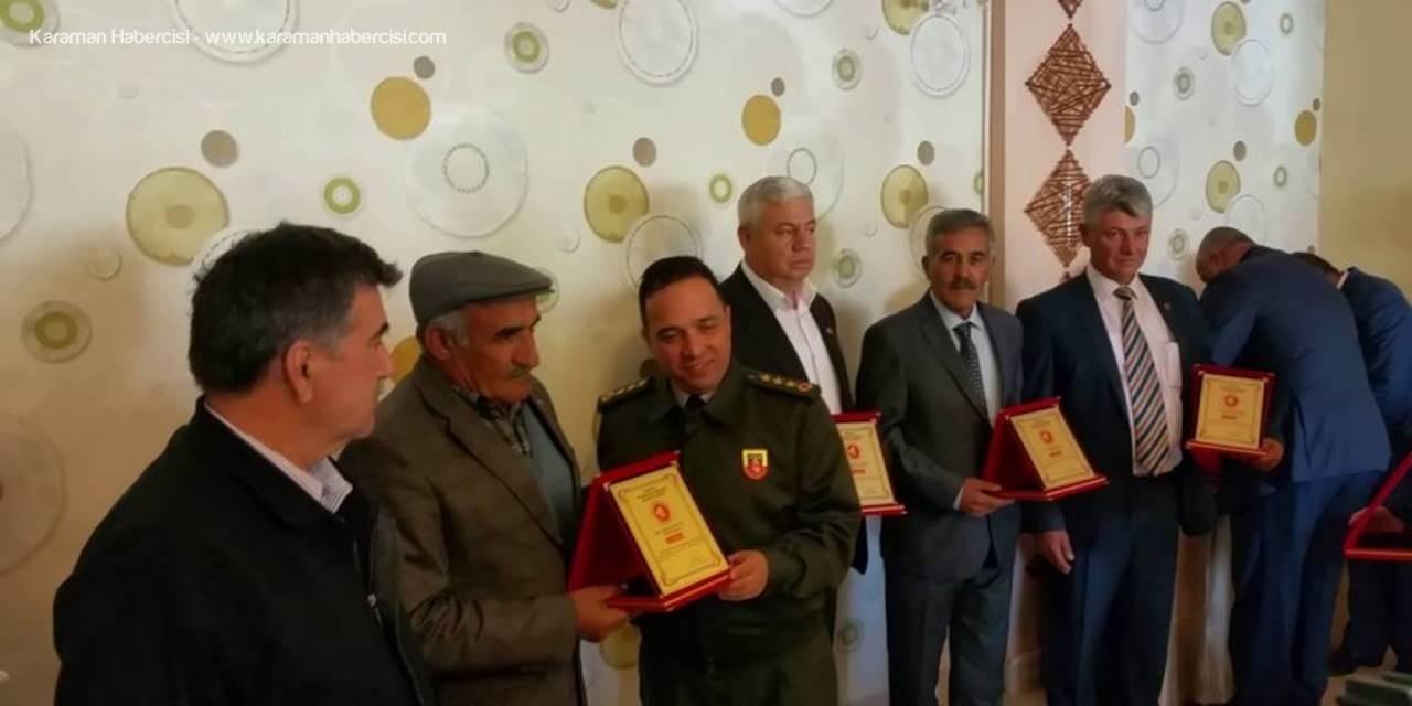 Karaman'da Muhtar Günü Programı