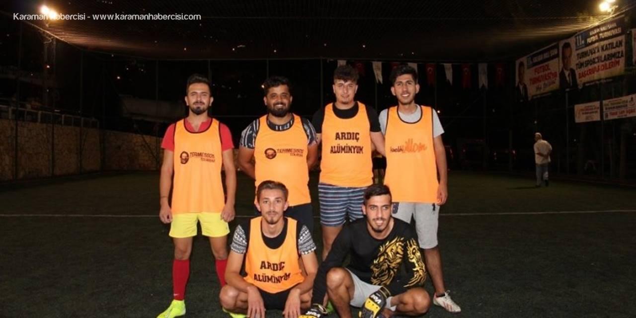 Kaş Belediyesi Kalkan Halı Saha Futbol Turnuvası Başladı