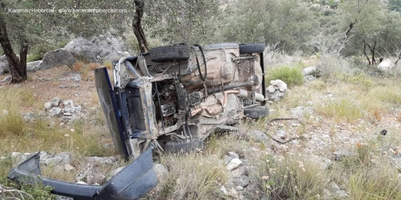 Otomobil Uçurumdan Aşağı Yuvarlandı: 1 Kişi Yaşamını Yitirdi