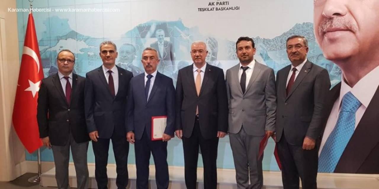 AK Parti Karaman Merkez ve İlçe Başkanları Netleşti
