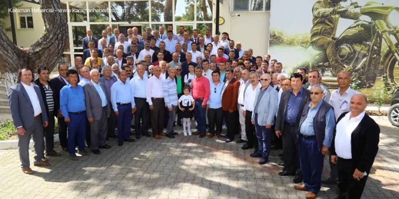 Manavgat Belediye Başkanı Şükrü Sözen, 19 Ekim Muhtarlar Günü Mesajı