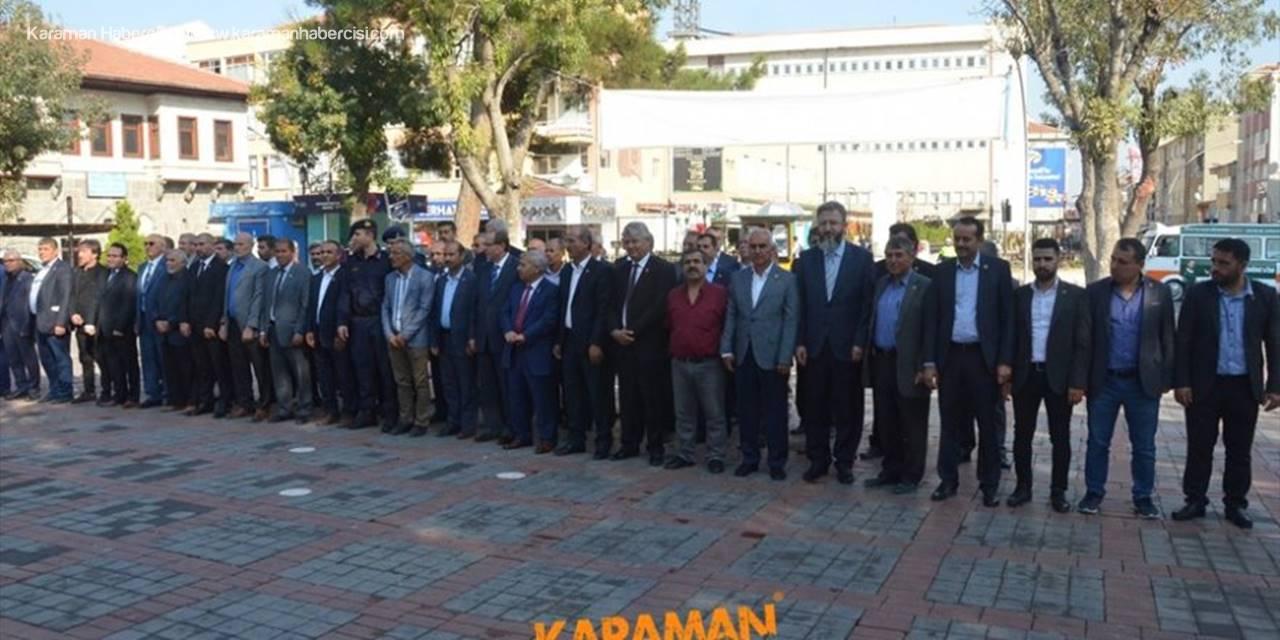 Karaman'da 19 Ekim Muhtarlar Günü Kutlaması