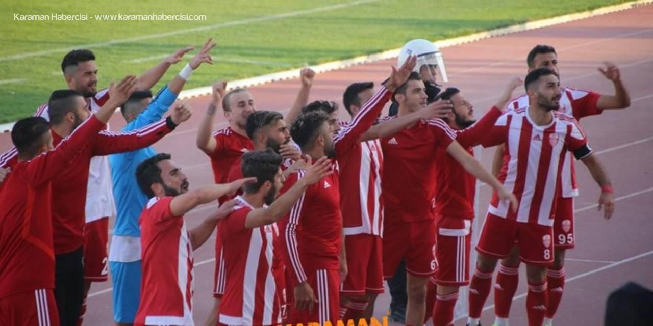 Karaman Belediyespor Lig Yarışından Kopmadı