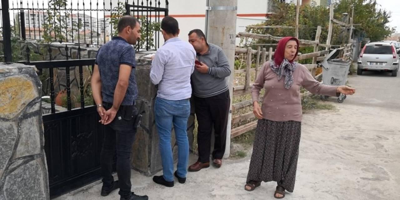 Hırsızlar Aksaraylı Kadının Taşpınar Halısına Göz Dikti