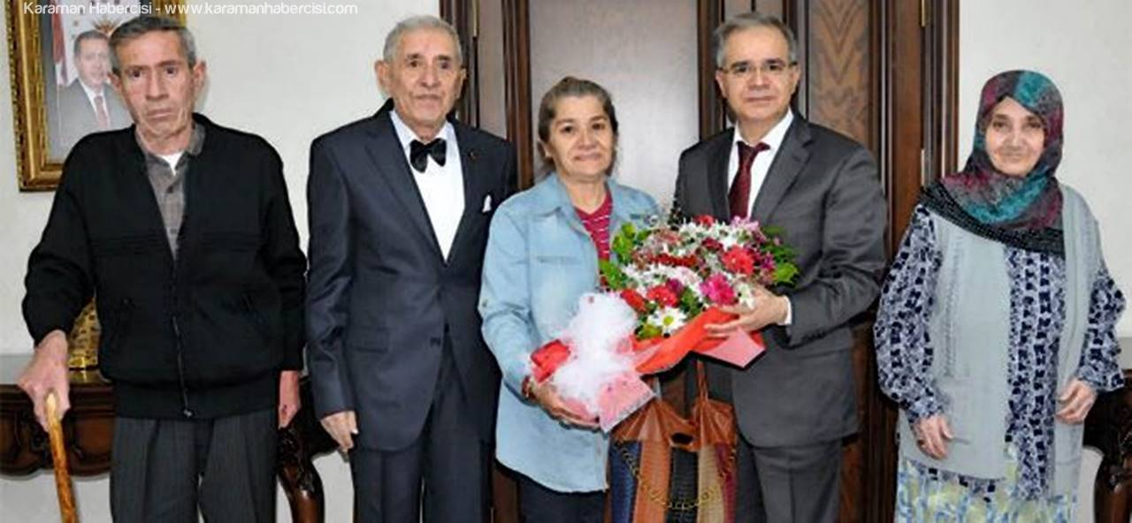 Vali Tapsız'a Anlamlı Ziyaret