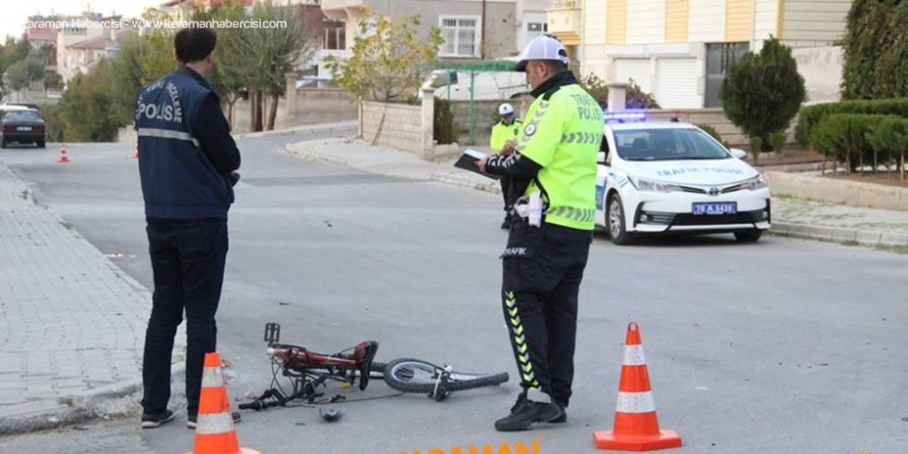 Karaman'da Genç Sürücünün Çarptığı Çocuk Yaşam Savaşı Veriyor