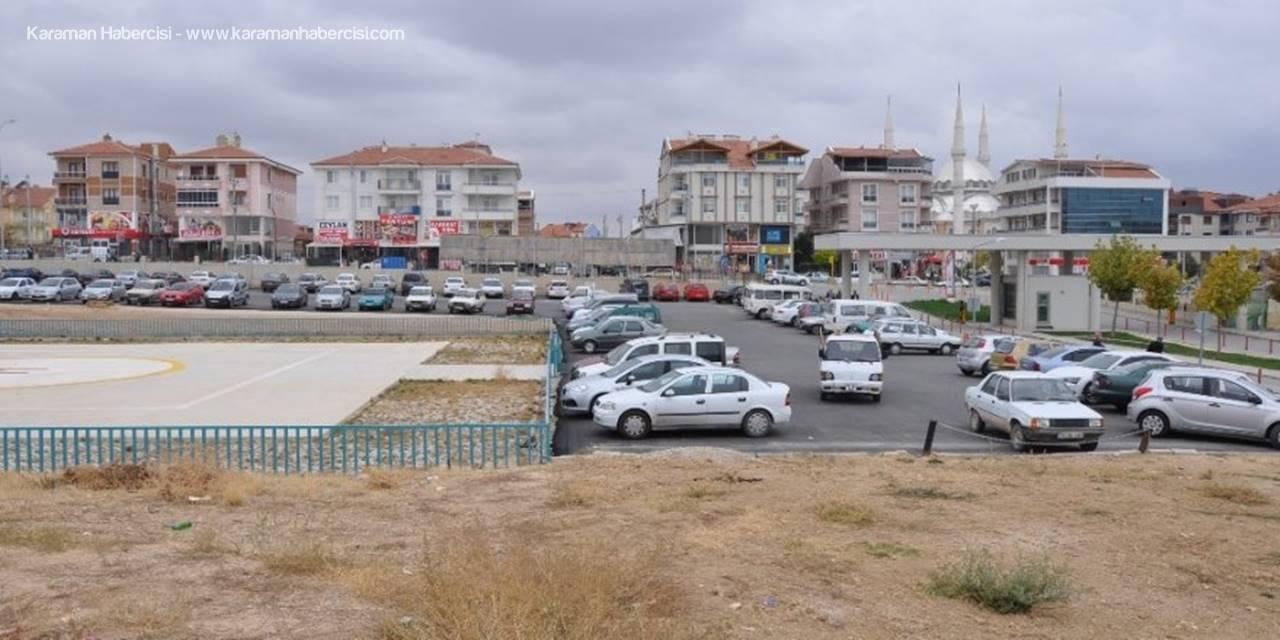 Karaman Devlet Hastanesine  İlave Otopark