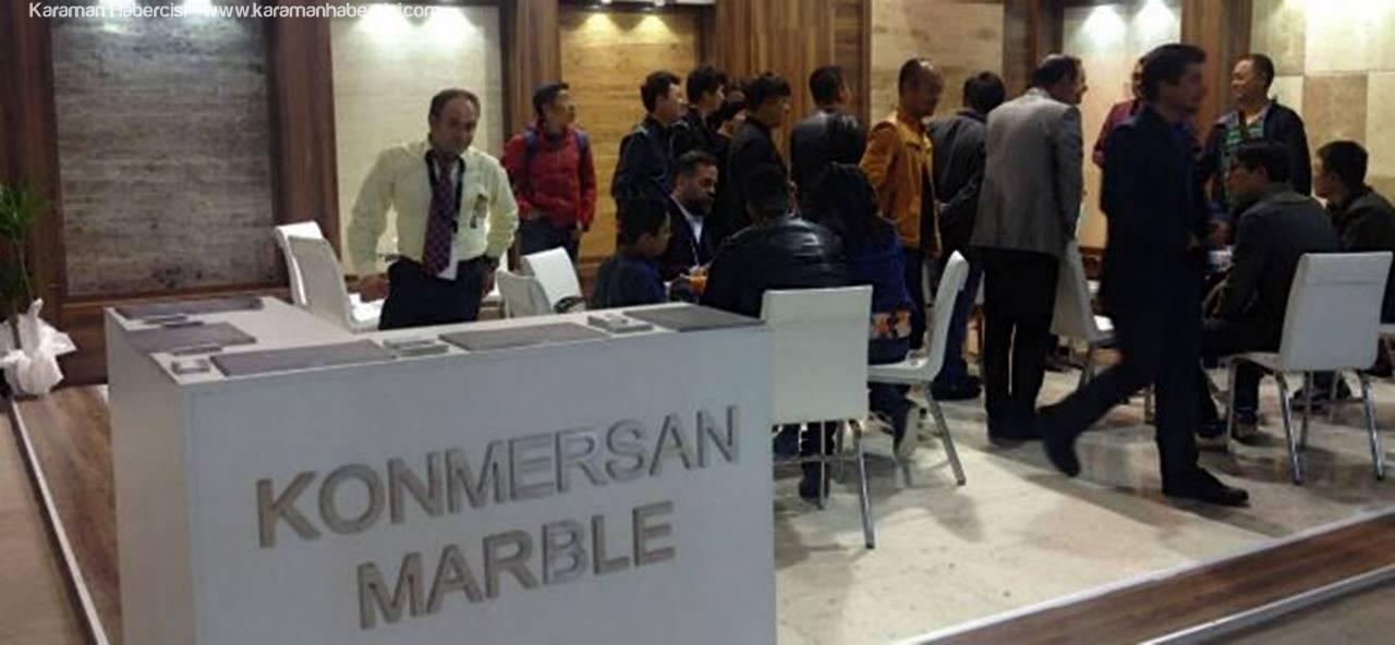 Konmersan Mermer Marble 2017'ye Katıldı
