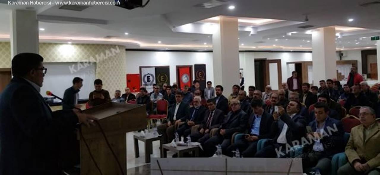 Karaman'da Çalışma Hayatı ve Problemleri Konuşuldu