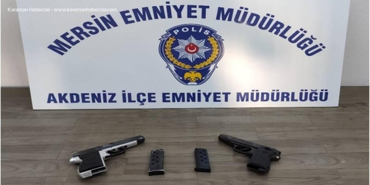 Mersin'de 9 Hırsızlık Şüphelisi Yakalandı