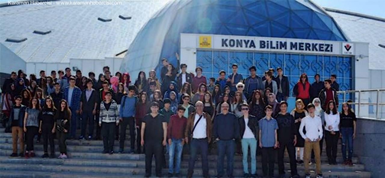 Karamanlı Öğrenciler Konya Bilim Merkezini Gezdiler