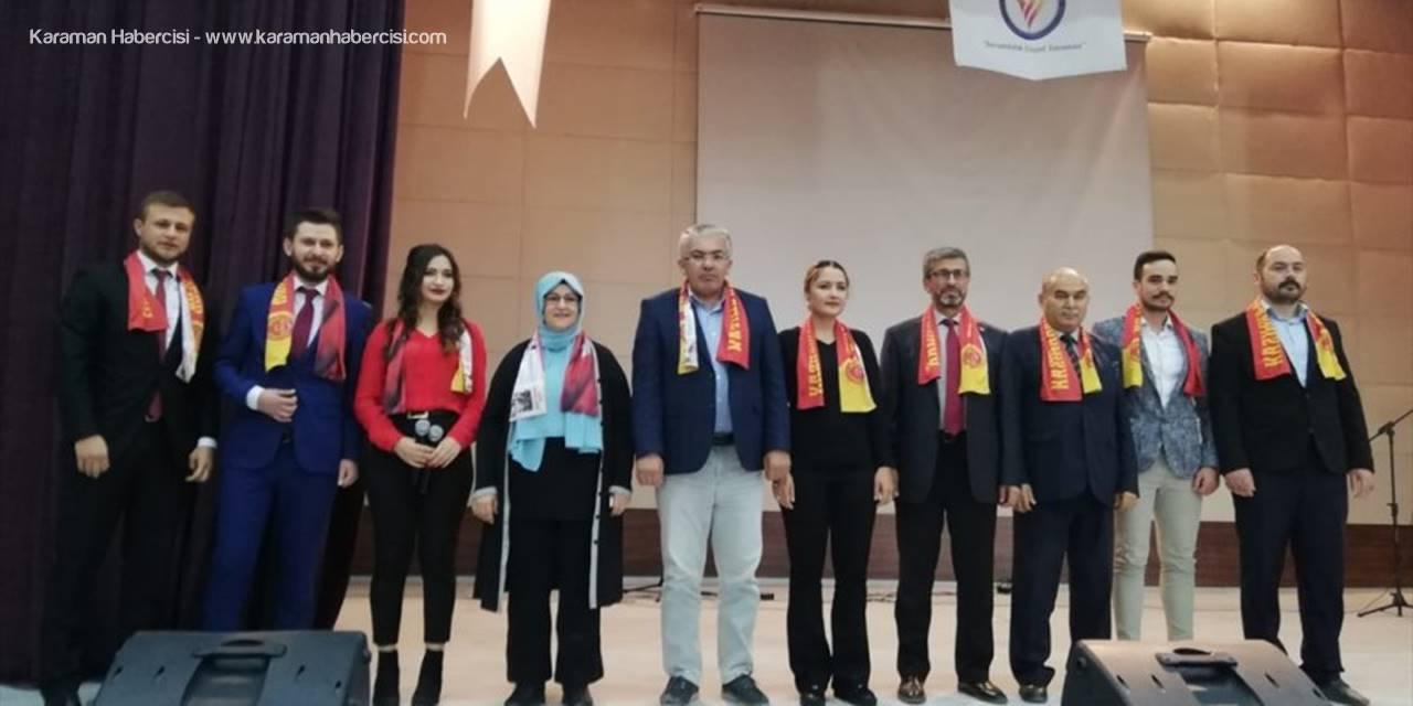 """Kmü Kazımkarabekir Meslek Yüksekokulu'nda """"Güvenli Gıda"""" Semineri"""