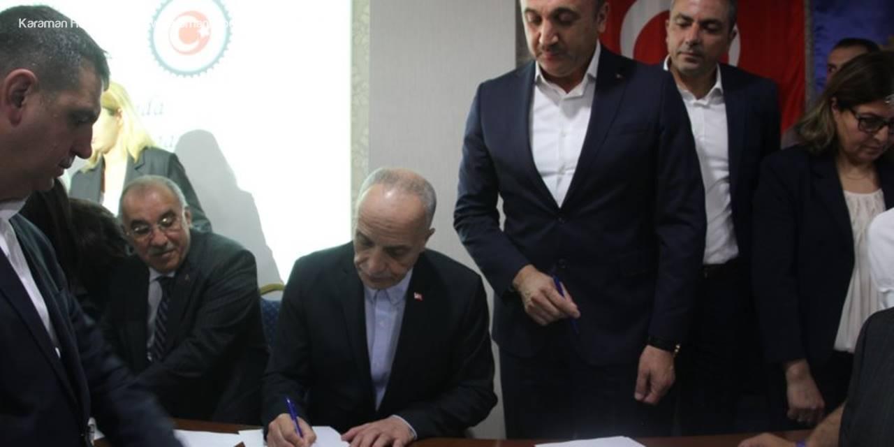 Türk-İş Vergide Adalet İçin İmza Kampanyası Başlattı