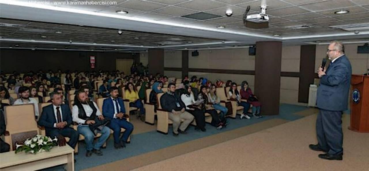 KMÜ'de 'Muhsin Yazıcıoğlu'nu Anma Programı Düzenlendi