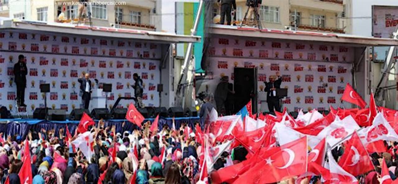 Elvan Ve Çalışkan Karamanlılara Seslendi