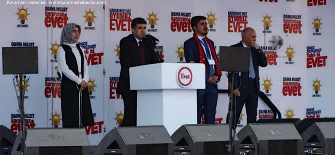 AK Parti İl Başkanı Nazmi Ünlü'den Teşekkür