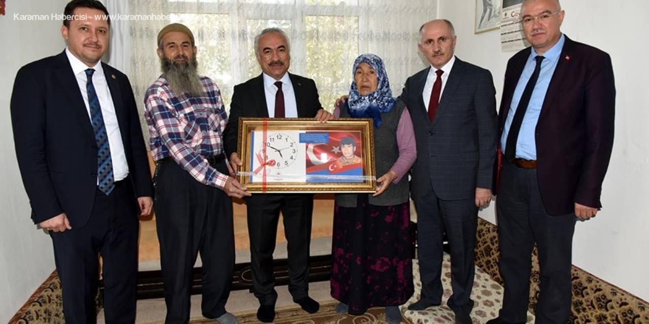 Bakan Yardımcısı Ersoy'un Şehit ve Gazi Aileleri Ziyareti