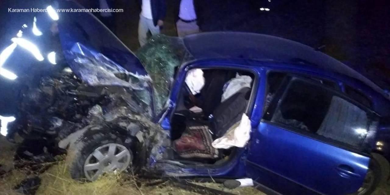 Aksaray'da Trafik Kazası : 8 Yaralı