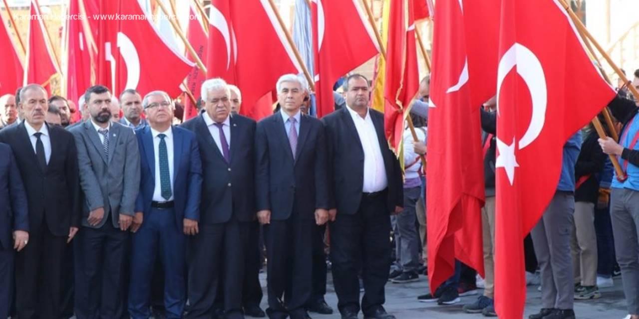 Gazi Mustafa Kemal Atatürk  Aksaray'da Anıldı