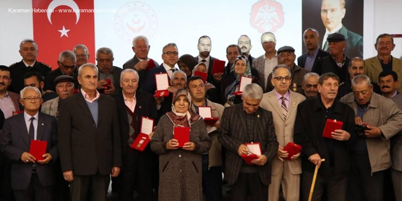 Kıbrıs Gazileri İçin Niğde'de Madalya Ve Berat Tevcih Töreni