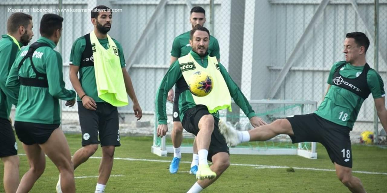 Konyaspor'da Beşiktaş Maçı Hazırlıklarını Sürdürdü