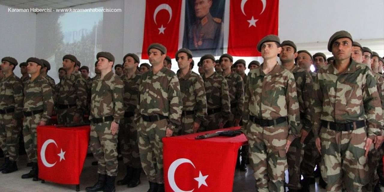 Kayseri'de Eğitimlerini Tamamlayan Bedelli Askerler Yemin Etti
