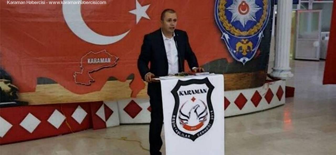 Karaman Beşiktaşlılar Dernek Başkanı Varol'un 19 Mayıs Mesajı