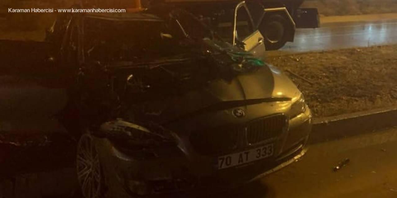 Karaman'da İki Ayrı Trafik Kazası: 6 Yaralı