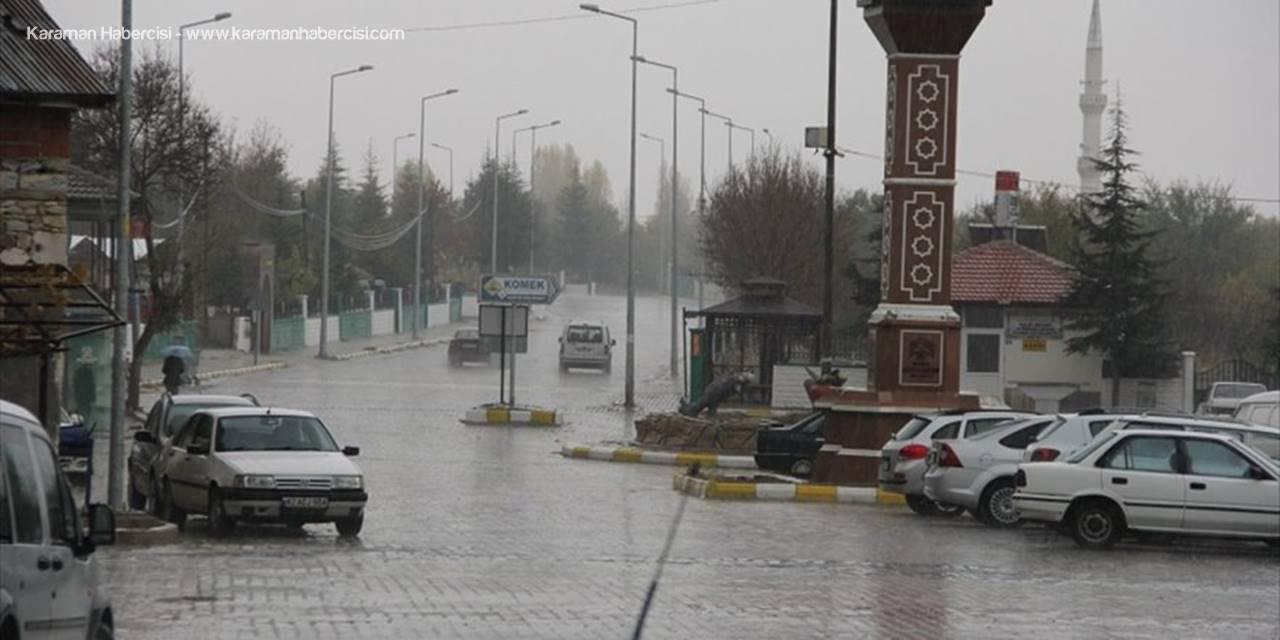 Konya'da Yağmur Çiftçinin Yüzünü Güldürdü