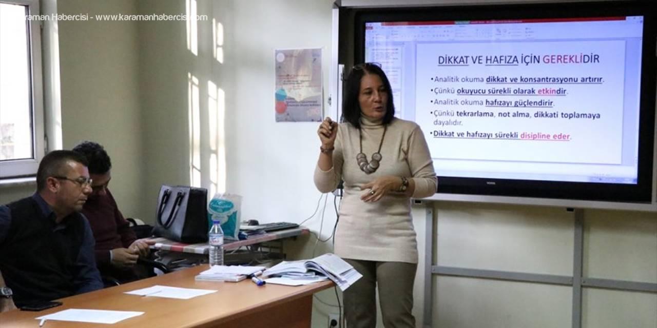"""Niğde'de Öğretmenlere """"Analitik Okuma Ve Yazma"""" Eğitimi Veriliyor"""
