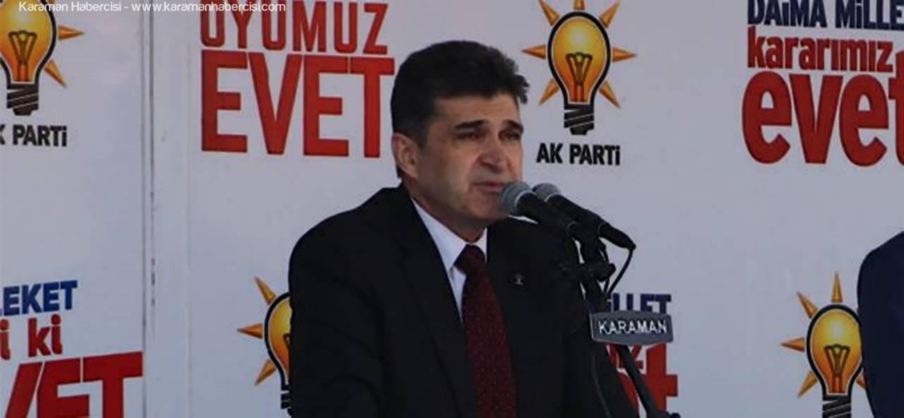 AK Parti Karaman İl Başkanı Nazmi Ünlü Kandil Mesajı