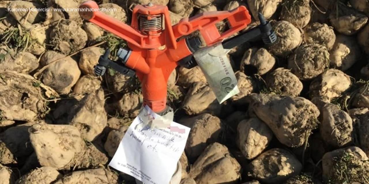 Aksaray'da Haram Helali Bilenler Bitmemiş Dedirten Davranış