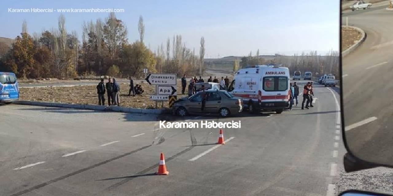 Karamanlı Sürücü Konya Yolunda Kaza Yaptı: 1 Ölü, 3 Yaralı