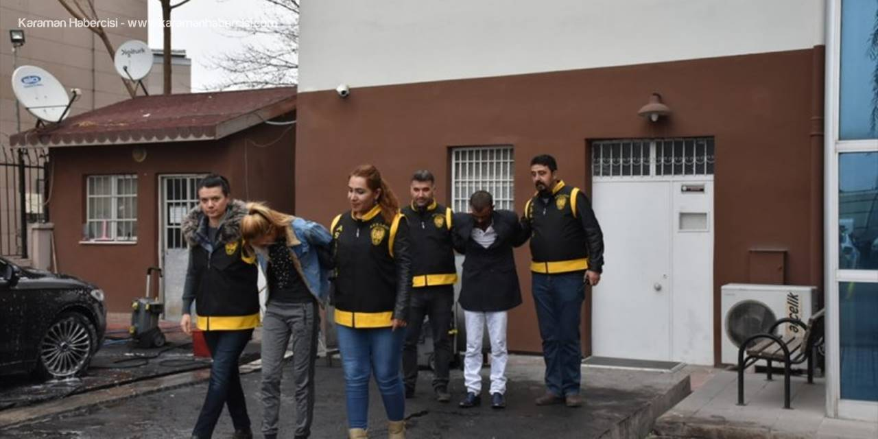 Aksaray'da Hırsızlık Zanlıları Tutuklandı