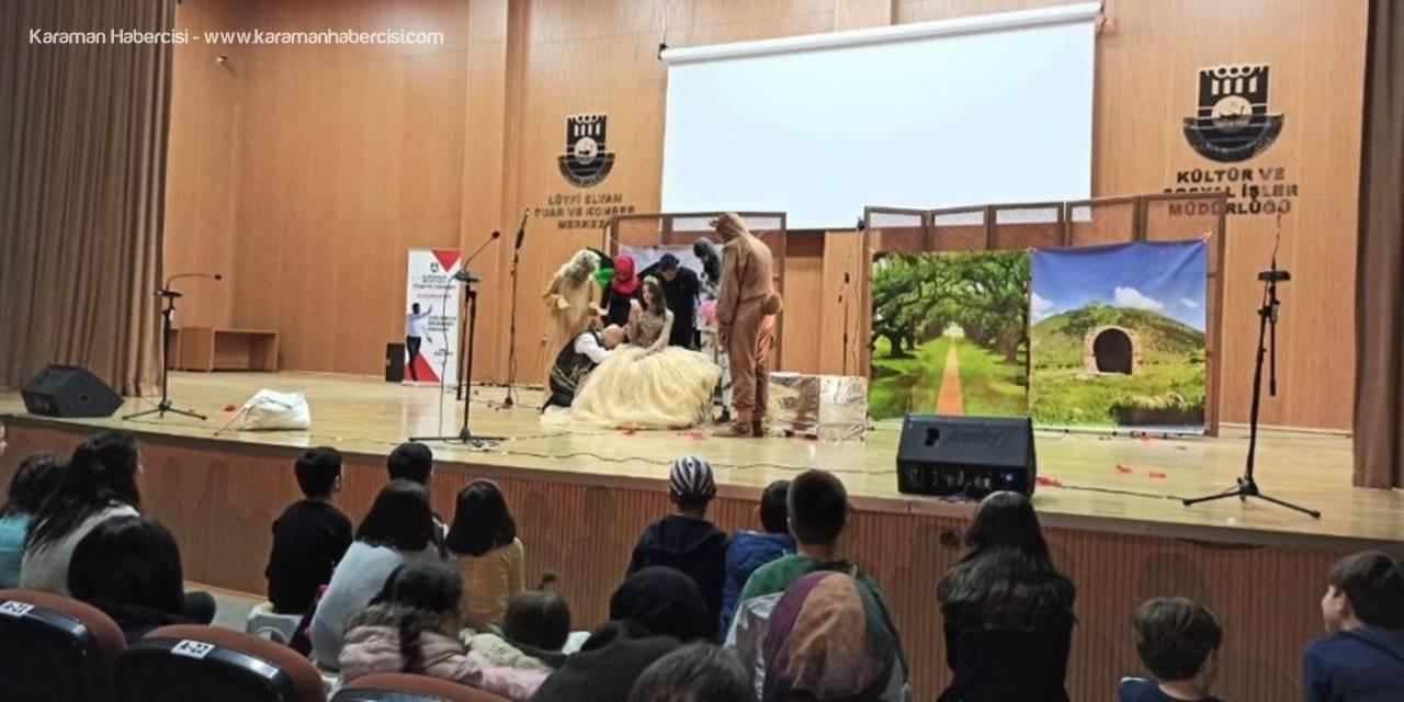 Karaman Belediyesi Tiyatro Günlerine Yoğun İlgi