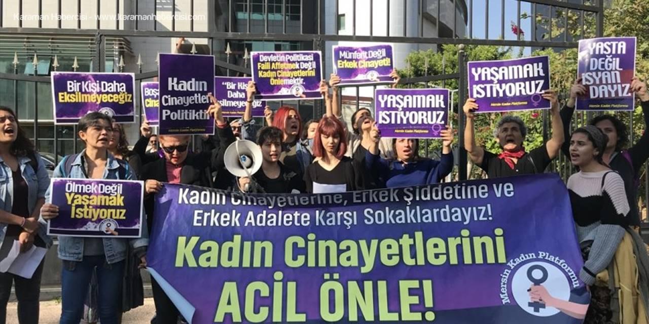 Mersin'de Boşanmak İsteyen Eşini Öldüren Sanık Hakim Karşısında
