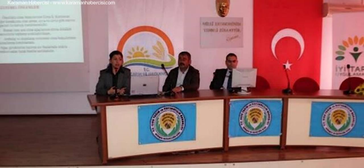 İyi Tarım Uygulamalarının Yaygınlaştırılması ve Kontrolü (İTU) Toplantısı Yapıldı