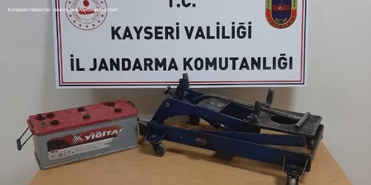 Mazot Ve Motoru Çalan Hırsızlar Tutuklandı