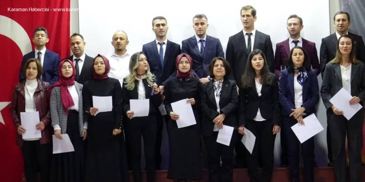 Ermenek'te 24 Kasım Öğretmenler Günü Kutlaması
